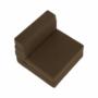 Kép 34/39 - ZAFIR Kinyitható fotel,  barna