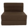 Kép 3/39 - ZAFIR Kinyitható fotel,  barna