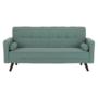 Kép 9/14 - OTISA Kinyitható kanapé,  zöld-mentol szövet