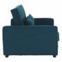 Kép 4/20 - FRENKA Kinyitható kanapé,  türkiz [BIG BED]