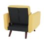 Kép 16/19 - ARKADIA kinyitható fotel,  mustár
