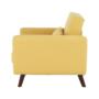 Kép 17/19 - ARKADIA kinyitható fotel,  mustár