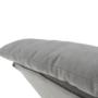 Kép 15/25 - ZANDER Fotel lábtartóval,  világosszürke/természetes
