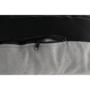 Kép 17/25 - ZANDER Fotel lábtartóval,  világosszürke/természetes