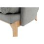 Kép 22/25 - ZANDER Fotel lábtartóval,  világosszürke/természetes