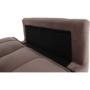Kép 3/23 - KAPRERA Kinyitható kanapé,  vénrózsaszín bársony/bükk