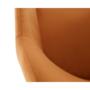 Kép 10/17 - ODOVEL Fotel,  szövet tégla/fekete lábak