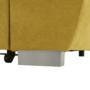 Kép 2/22 - EVANGELIN Ülőgarnitúra - mustár,  balos