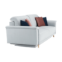 Kép 3/20 - ARIANA kanapé,  világosszürke/rózsaszín/sötétkék