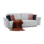 Kép 5/20 - ARIANA kanapé,  világosszürke/rózsaszín/sötétkék