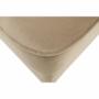 Kép 9/10 - RUFINO Modern puff,  bézs-arany/dió
