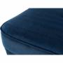Kép 8/10 - RUFINO Modern puff,  kék/dió