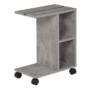 Kép 6/6 - NIDEN kisasztal,  világos beton
