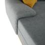 Kép 3/27 - PANOS Ülőgarnitúra - szürke/mustár,  balos