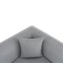 Kép 10/22 - BROKEN kanapé - szürke,  jobbos