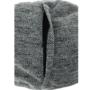 Kép 4/23 - Hanord Ülő tasak-pufó,,  fekete / fehér