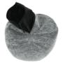 Kép 6/23 - Hanord Ülő tasak-pufó,,  fekete / fehér