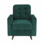 Kép 20/27 - MEDLIN Fotel,  smaragd / dió