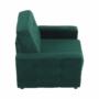 Kép 21/27 - MEDLIN Fotel,  smaragd / dió