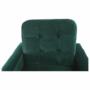 Kép 22/27 - MEDLIN Fotel,  smaragd / dió