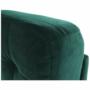 Kép 23/27 - MEDLIN Fotel,  smaragd / dió