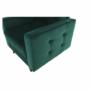 Kép 24/27 - MEDLIN Fotel,  smaragd / dió
