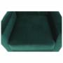 Kép 27/27 - MEDLIN Fotel,  smaragd / dió