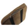 Kép 2/17 - ZERON fotel,  szövet velvet arany-barna/tölgy