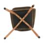 Kép 5/17 - ZERON fotel,  szövet velvet arany-barna/tölgy
