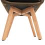 Kép 6/17 - ZERON fotel,  szövet velvet arany-barna/tölgy