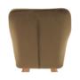 Kép 10/17 - ZERON fotel,  szövet velvet arany-barna/tölgy
