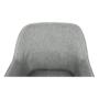 Kép 13/18 - MATIR Dizájnos fotel,  szürke/fekete