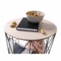 Kép 8/13 - NANCER kisasztal,  természetes/fekete [TYP 3]