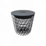 Kép 4/14 - BATIS kisasztal,  grafit/fekete [TYP 1]