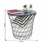 Kép 9/14 - BATIS kisasztal,  grafit/fekete [TYP 1]