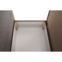 Kép 3/18 - KENET Kinyitható fotel,  szürke-barna Taupe