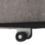 Kép 7/18 - KENET Kinyitható fotel,  szürke-barna Taupe