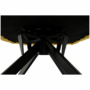 Kép 4/20 - KOMODO Dizájnos feorgó fotel,  sárga/fekete