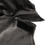 Kép 17/28 - CHARGO Hintaszék lábtartóval,  sötétszürke/fekete/bükk