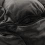 Kép 19/28 - CHARGO Hintaszék lábtartóval,  sötétszürke/fekete/bükk