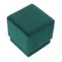 Kép 5/10 - ALIMA Puff,  smaragd Velvet anyag