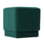 Kép 9/10 - ALIMA Puff,  smaragd Velvet anyag