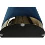 Kép 15/16 - ALAZ Puff,  kék Velvet anyag/gold króm-arany