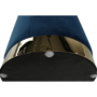 Kép 16/16 - ALAZ Puff,  kék Velvet anyag/gold króm-arany