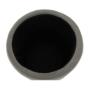 Kép 8/21 - DARON Puff,  szürke Velvet anyag/ezüst króm