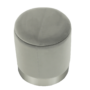 Kép 19/21 - DARON Puff,  szürke Velvet anyag/ezüst króm
