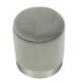 Kép 11/21 - DARON Puff,  szürke Velvet anyag/ezüst króm