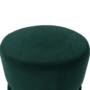 Kép 4/15 - VIZEL Puff,  smaragd Velvet anyag/arany festés