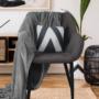 Kép 7/18 - FEDRIS Dizájnos fotel,  szürke anyag