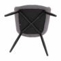 Kép 3/18 - FEDRIS Dizájnos fotel,  szürke anyag